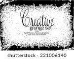 design template.abstract grunge ... | Shutterstock .eps vector #221006140
