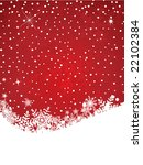 festive christmas background | Shutterstock .eps vector #22102384