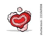 heart symbol cartoon   Shutterstock .eps vector #221069008