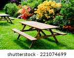 Bbeautiful Picnic Area With...