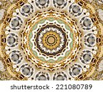 Abstract Kaleidoscope Texture...