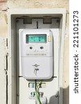 digital light meter equipped...   Shutterstock . vector #221101273