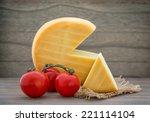 Smoked Cheese Wheel  Tomatoes...