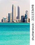 Small photo of Abu Dhabi Skyline, United Arab Emirates