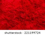 Red Furry Fabric  Texture ...