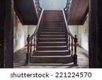 Old Stair Of Fire Station...