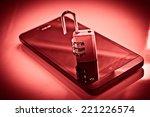 mobile security   smartphone... | Shutterstock . vector #221226574