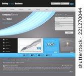 modern clean business website...