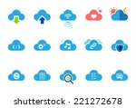 Cloud Service Icons  ...