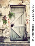 A Very Old Doorway In A...