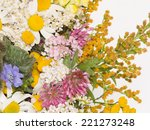 ������, ������: clover chamomile yarrow and