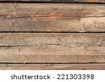 Rough Old Rustic Wooden...