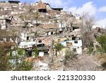 shanty houses   emptied homes... | Shutterstock . vector #221320330