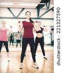 fitness  sport  training  gym... | Shutterstock . vector #221327590