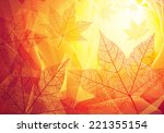 Autumn Background. Eps8. Cmyk....