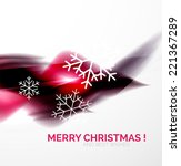 purple color christmas blurred...   Shutterstock .eps vector #221367289