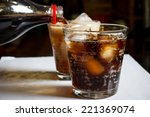 glass of cola | Shutterstock . vector #221369074
