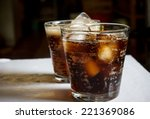 glass of cola | Shutterstock . vector #221369086