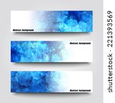 Set Of Banner Templates With...