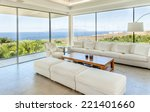 big living room with beautiful... | Shutterstock . vector #221401660