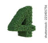 tree number | Shutterstock . vector #221401756