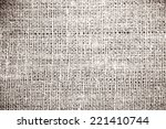 texture sack canvas to use as... | Shutterstock . vector #221410744
