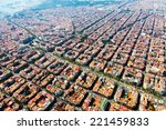 Aerial View Of Typical Houses...
