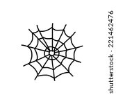 hand drawing cartoon halloween... | Shutterstock .eps vector #221462476