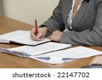 close up of conference meeting... | Shutterstock . vector #22147702