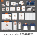 corporate identity templates ... | Shutterstock .eps vector #221478298
