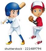 illustration of kids playing... | Shutterstock . vector #221489794
