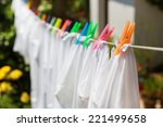 Cloth With Colorful Pins