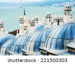 view to the golden horn ... | Shutterstock . vector #221500303