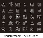 business  human resources  ... | Shutterstock .eps vector #221510524