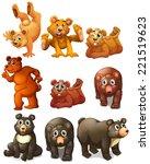 illustration of different... | Shutterstock . vector #221519623