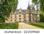azay le rideau  france   august ... | Shutterstock . vector #221539060