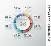 modern infographics options...   Shutterstock .eps vector #221591299