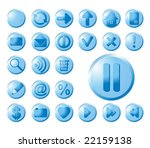 web icons | Shutterstock .eps vector #22159138