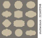 label big set | Shutterstock . vector #221609548