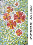 antique mosaic close up | Shutterstock . vector #22162030