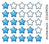 game ice web rating stars set...