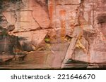 Sandstone Cliffs In Gauja...
