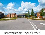 new english estate | Shutterstock . vector #221647924