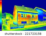 infrared thermovision image... | Shutterstock . vector #221723158