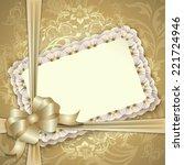 elegant template luxury... | Shutterstock . vector #221724946