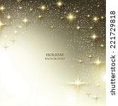 elegant christmas background... | Shutterstock .eps vector #221729818