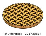 a large blueberry   plum  ... | Shutterstock .eps vector #221730814