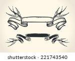 vintage vector illustration of... | Shutterstock .eps vector #221743540