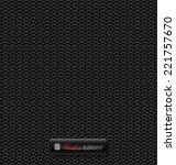 delicate carbon fiber vector... | Shutterstock .eps vector #221757670