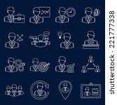 effective management modern... | Shutterstock .eps vector #221777338